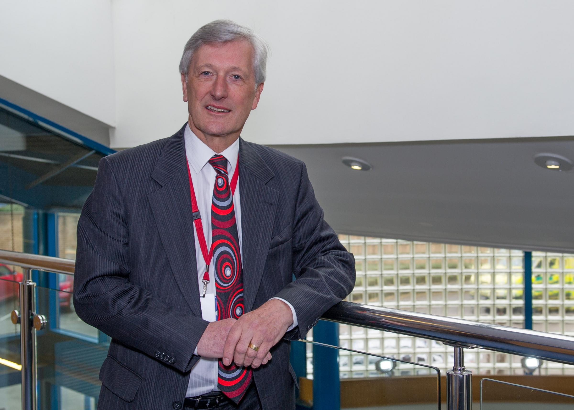 Mike Smith, chairman of Bradford District Care NHS Foundation Trust