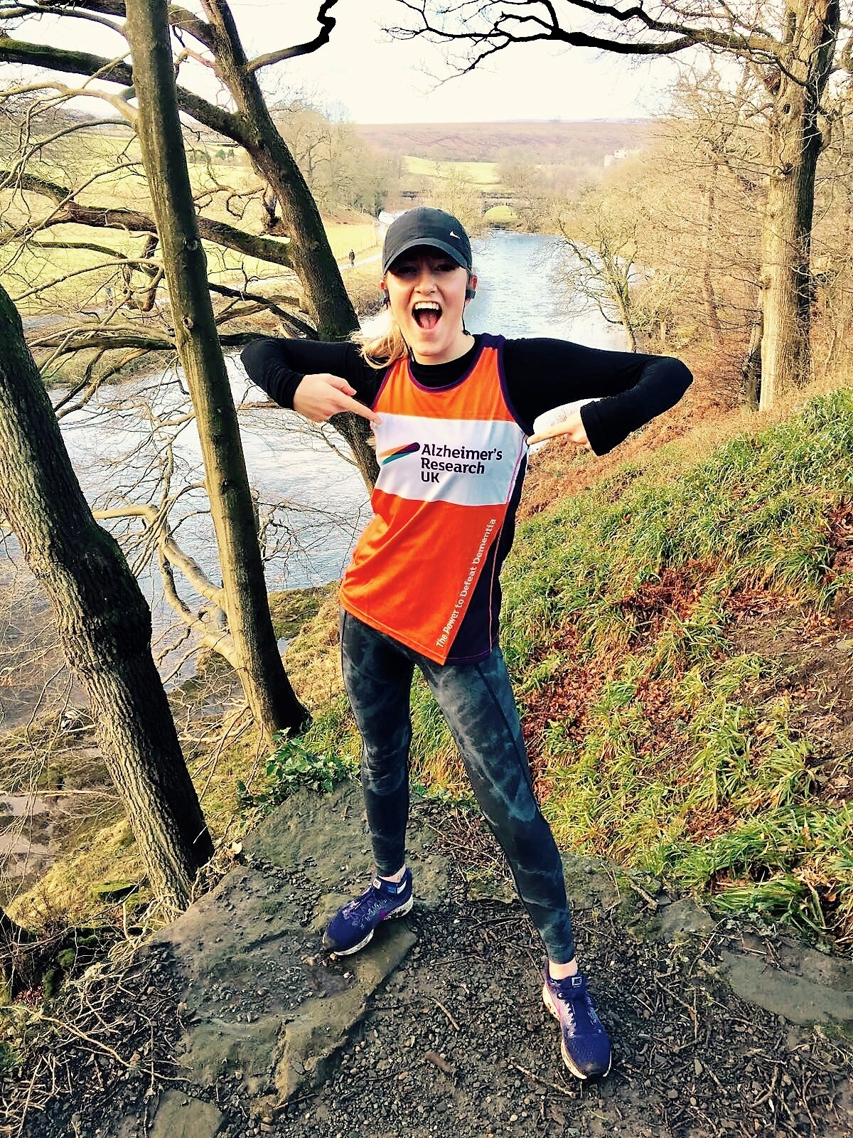 Running in two marathons for Alzheimer's Research UK - Fiona Connor