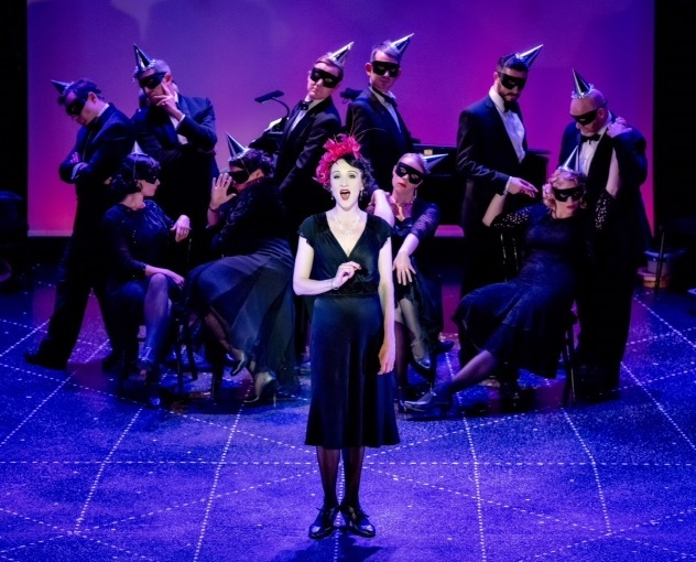 Amy Freston and ensemble in Berlin to Broadway- image is courtesy of Opera North