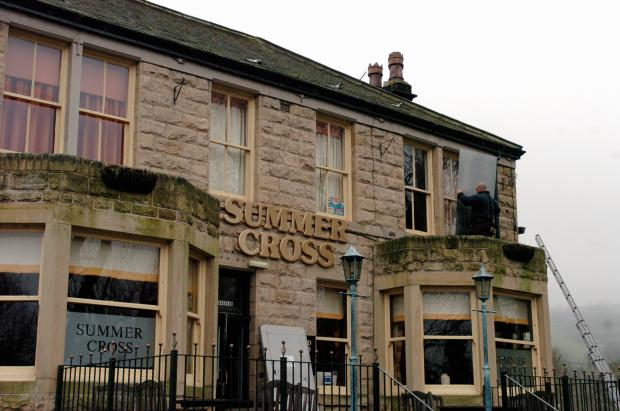 The Summer Cross pub, Otley,