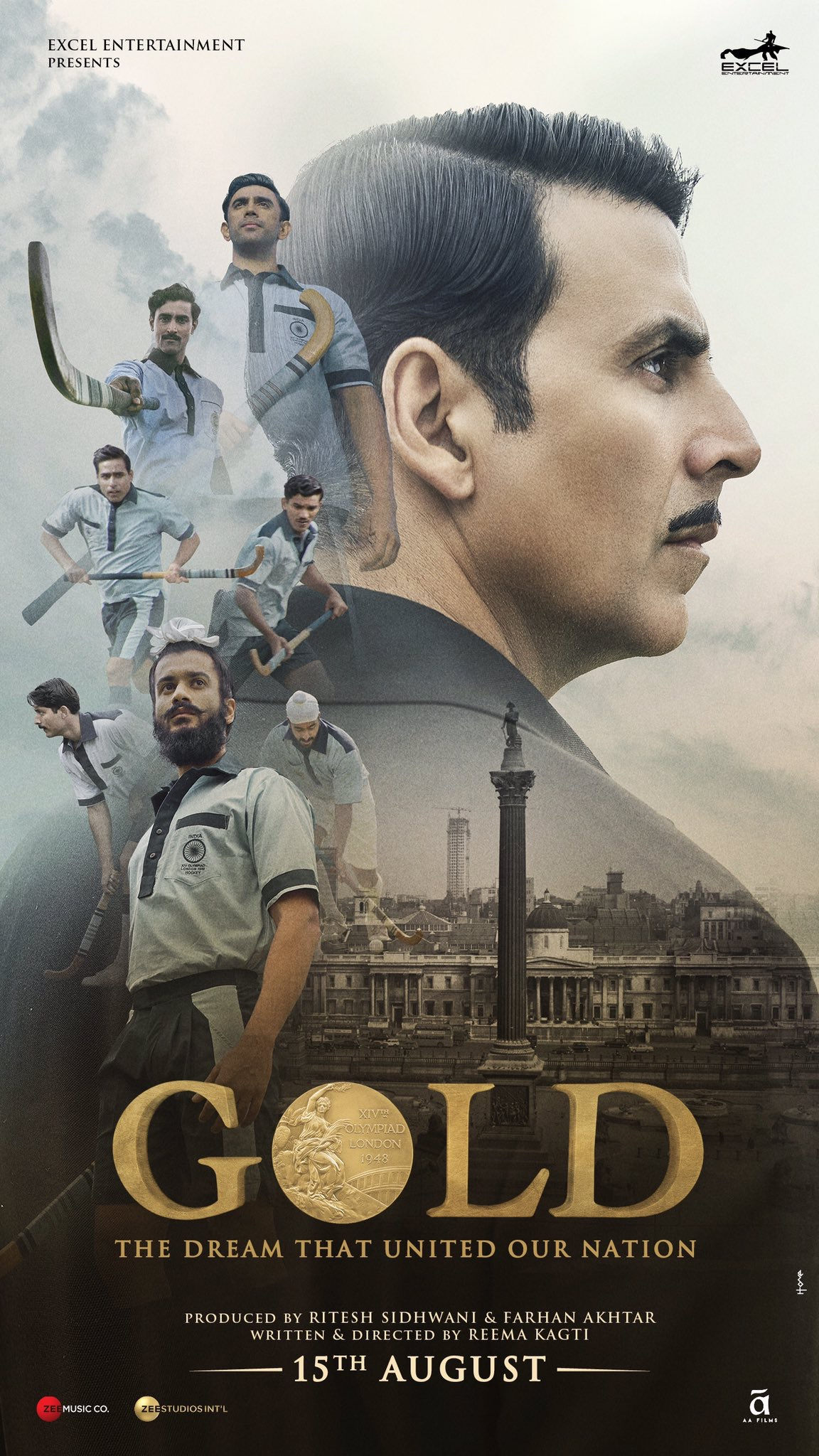 Stand Up for GOLD: New sports drama recounts independent India's first Olympic victory, releasing 15th August 2018
