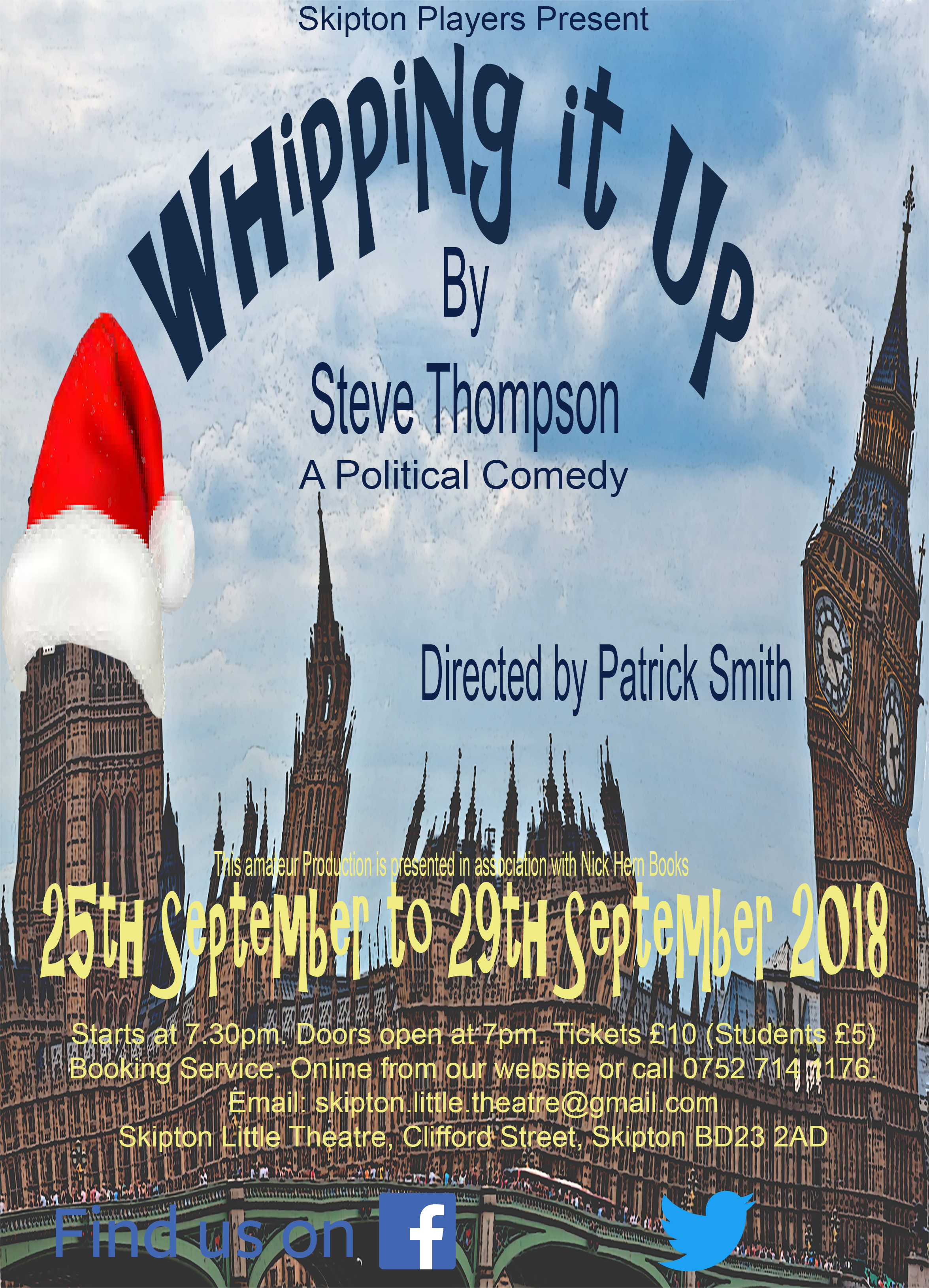 Whipping it Up - A Political Comedy by Steve Thompson