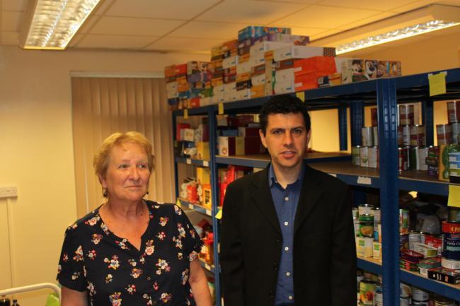 Mp Praises Otley Food Bank While Highlighting Holiday