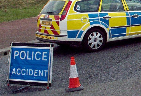 Two men are in hospital following a head-on collision near Pool-in-Wharfedale