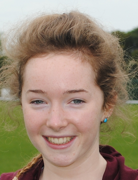Beth Cordukes scored two goals for Ben Ryhdding Ladies at the weekend