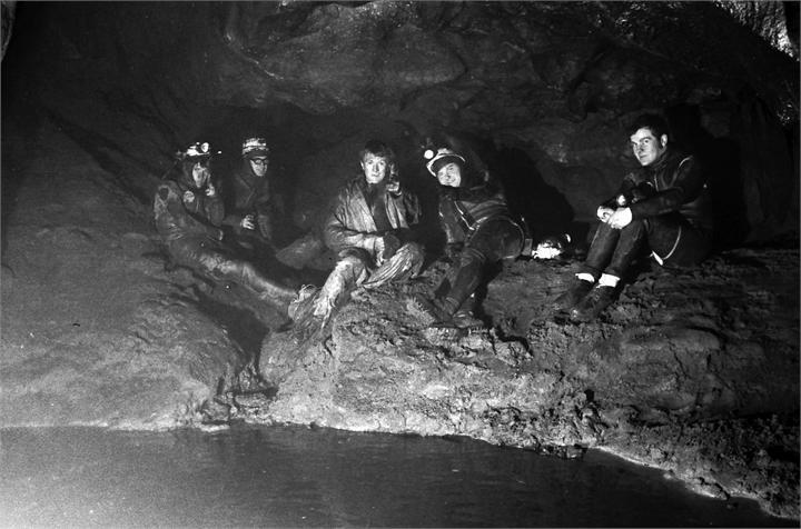 Members of the Happy Wanderers Cave and Pothole Club