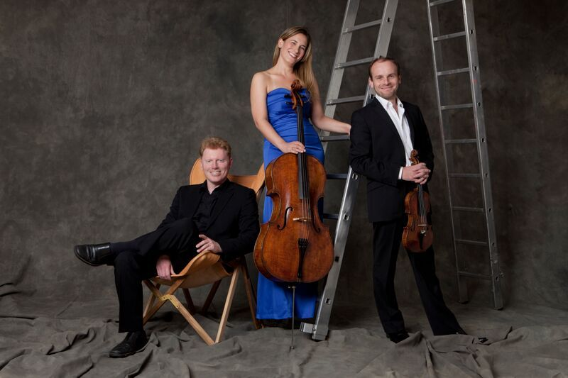 Leonore Piano Trio. Photo credit Eric Richmond