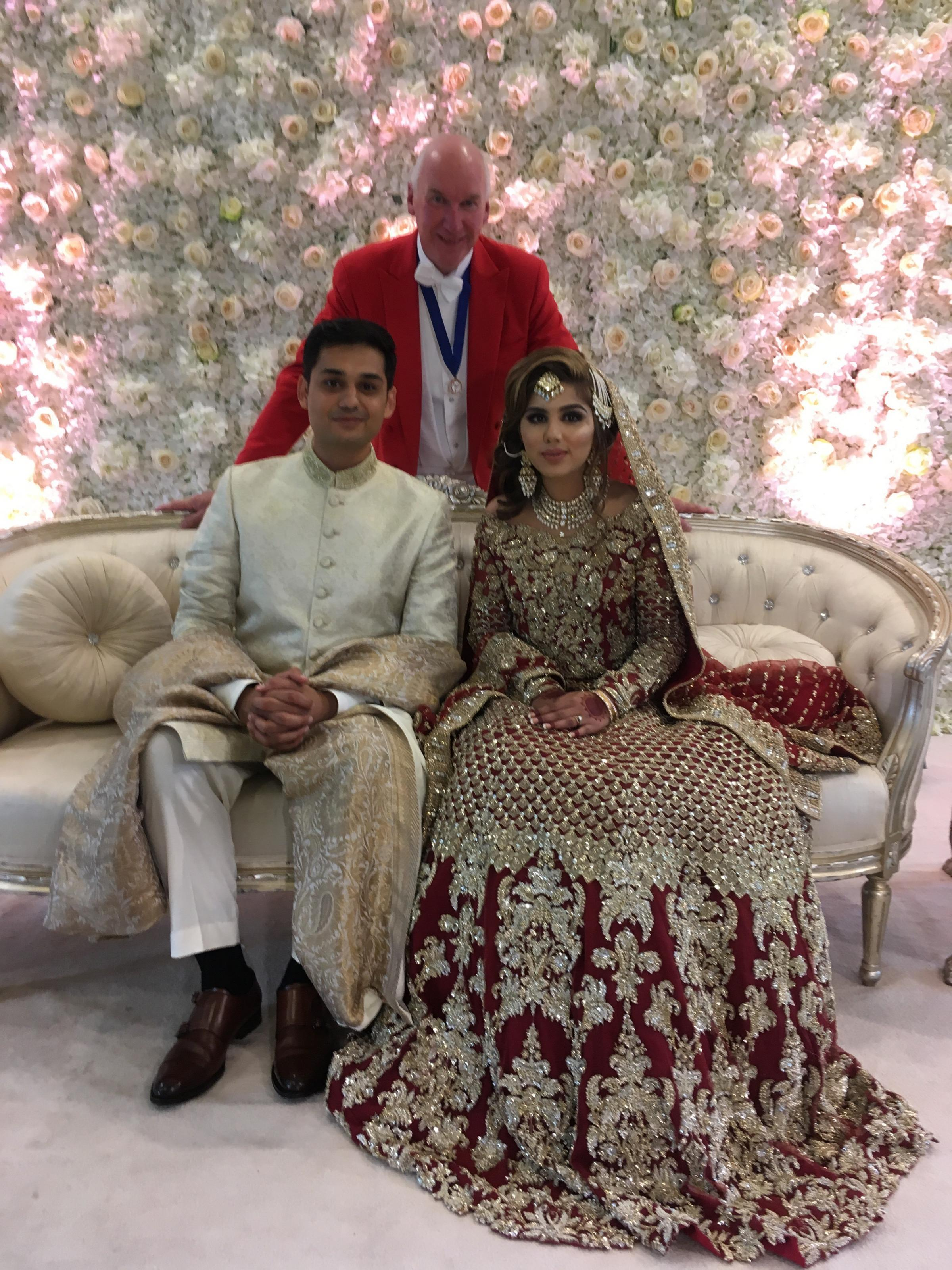 George Pye who has been shortlisted for a prestigious Asian Wedding Award. The winners will be announced on October 29 at the Mercure Manchester Piccadilly Hotel