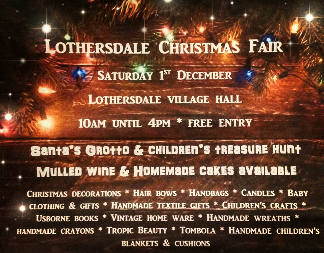 Lothersdale Christmas Fair
