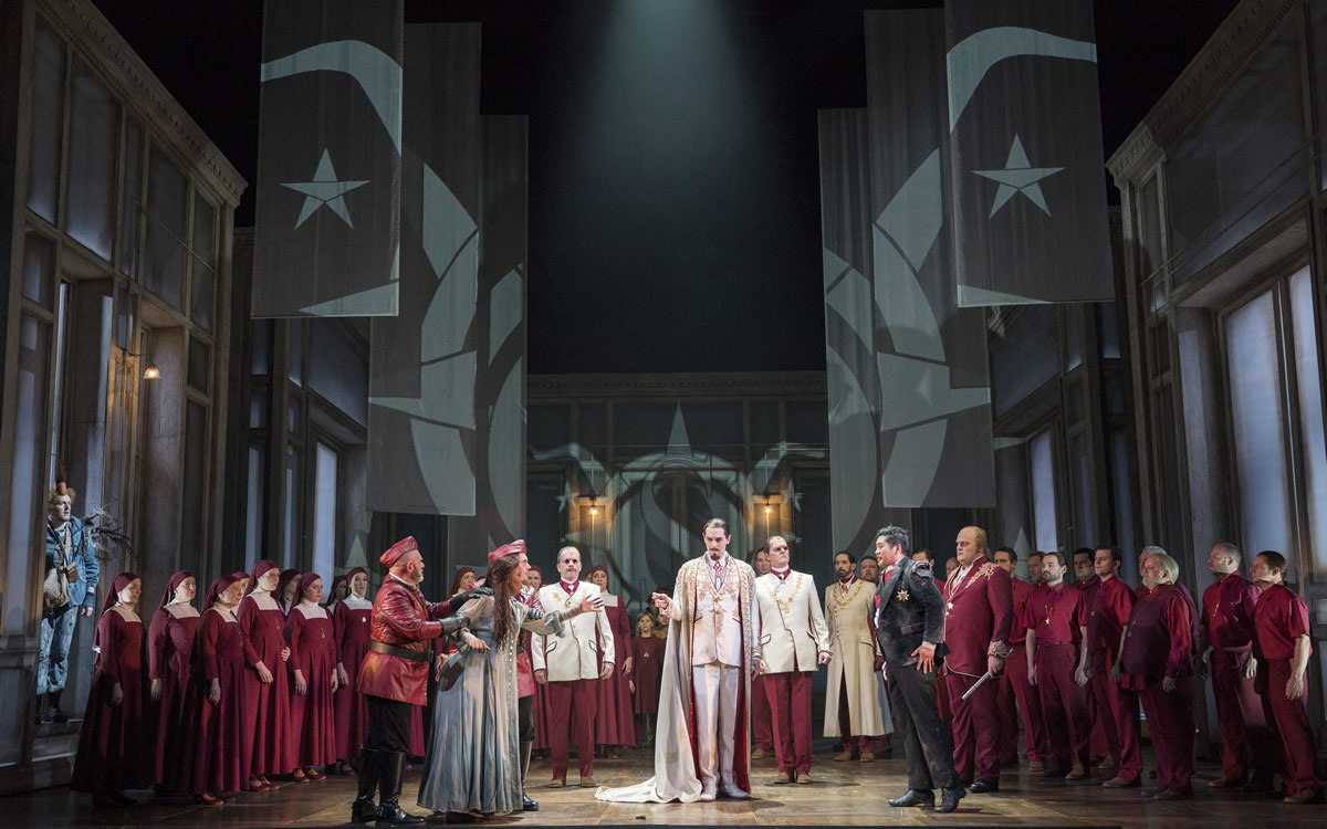 Image courtesy of Opera North,Photo credit, Alastair Muir