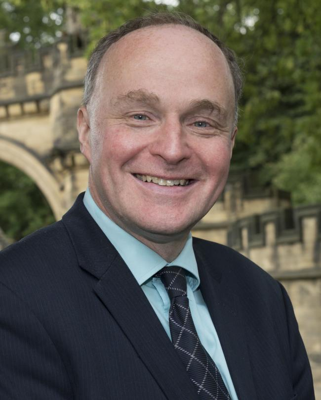 John Grogan who has been selected as the Labour Party candidate in Keighley and Ilkley
