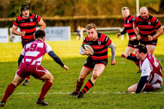Elliot Morgan has left Ilkley to join Otley. Picture: ruggerpix.com.