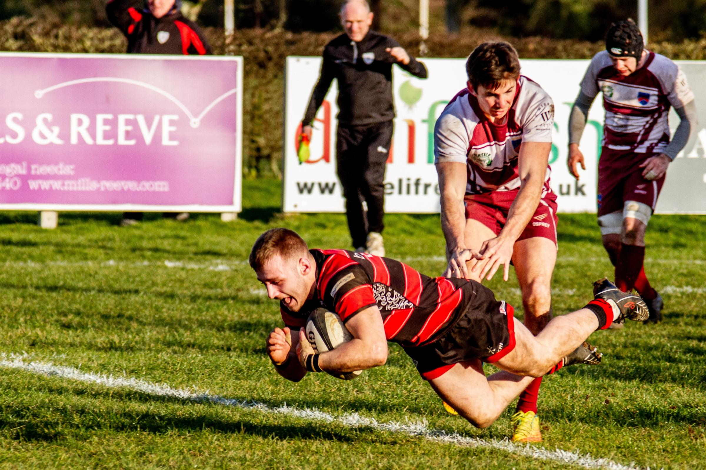 Joe Lowes may be rested for Ilkley's home clash with rock bottom Wilmslow in the North Premier on Saturday. Picture: ruggerpix.com