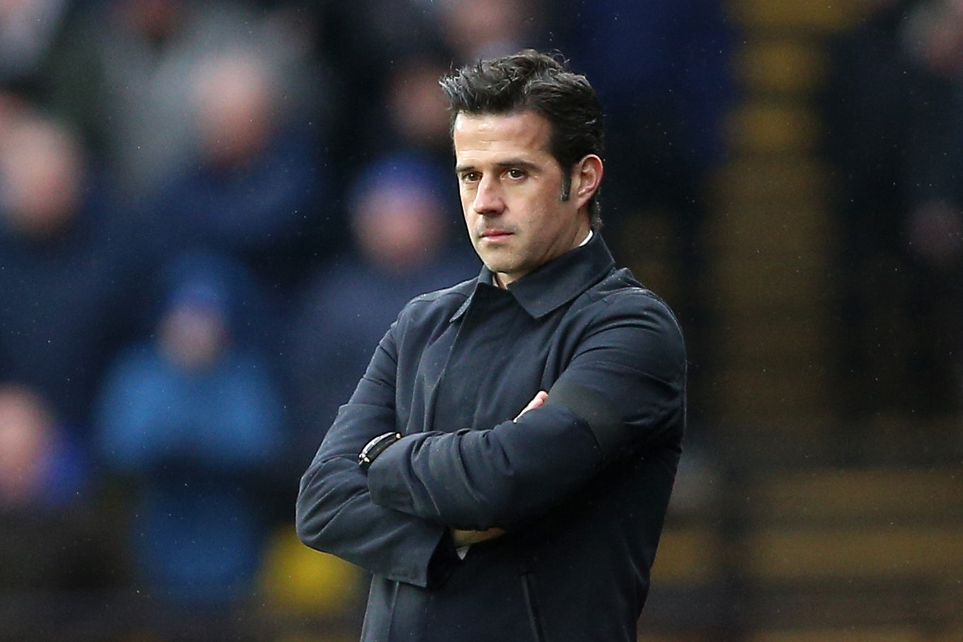 Marco Silva defended his conduct at the final whistle against Newcastle (Nigel French/PA)