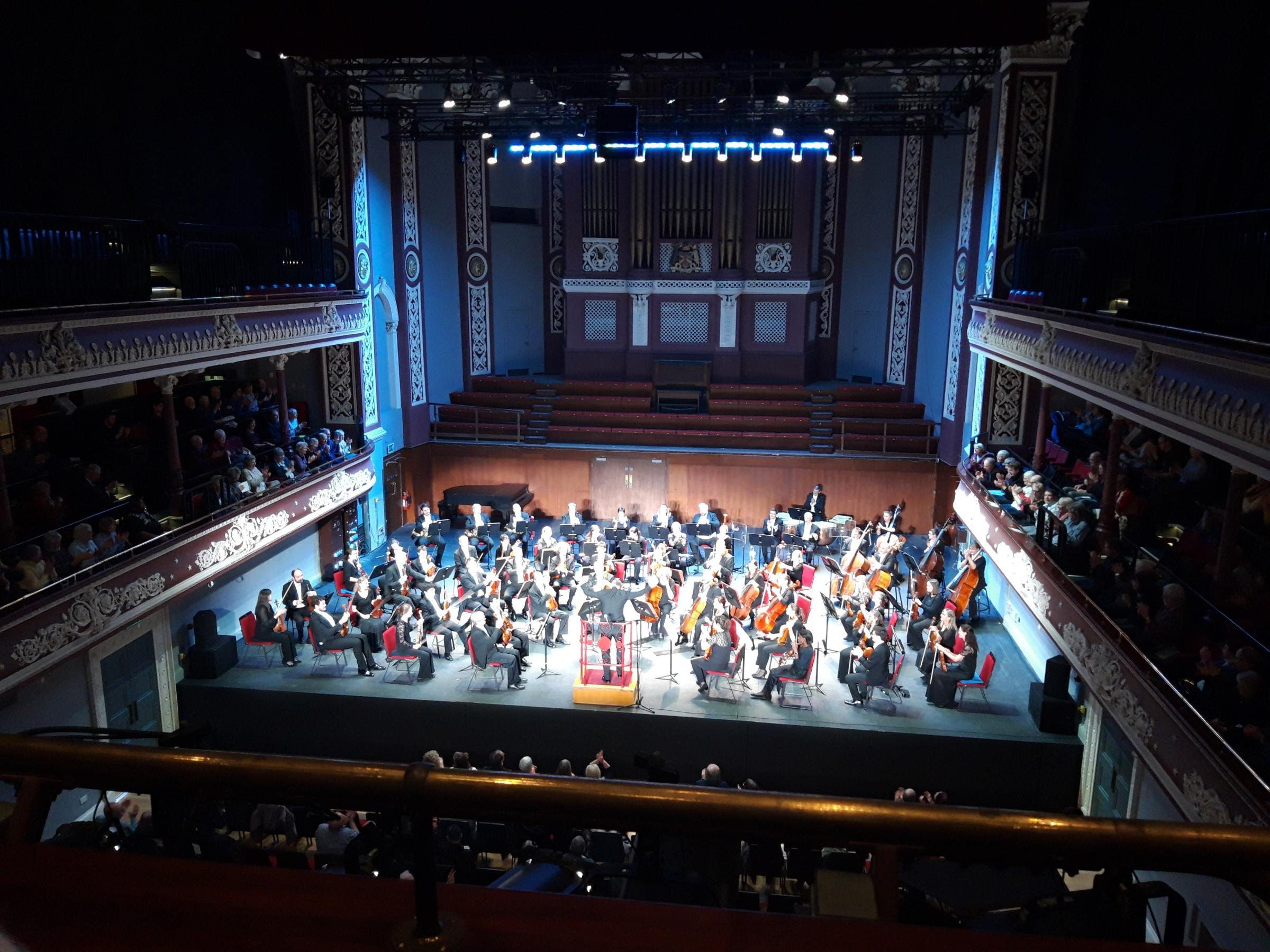 The Halle Orchestra at the newly refurbished St George's Hall