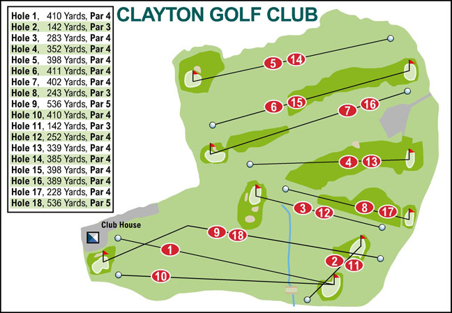 Ilkley Gazette: Clayton Golf Club
