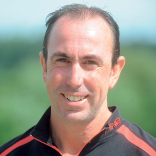 Fulneck Golf Club professional Geoff Whitham