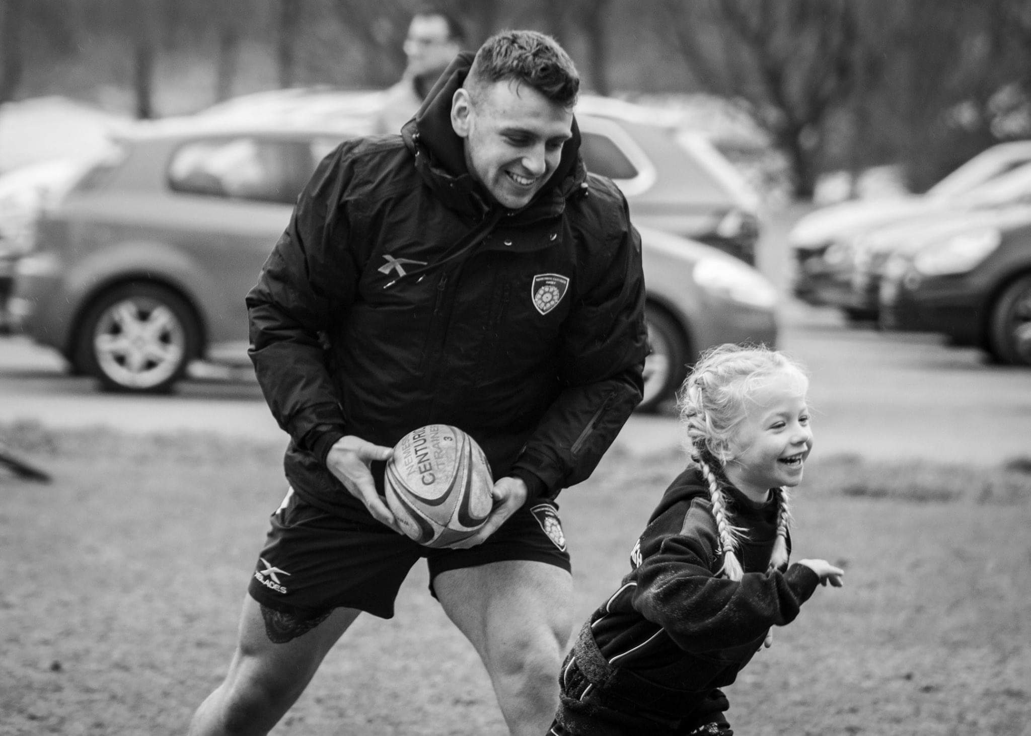 Yorkshire Carnegie community team recently held a rugby taster session for youngsters at Aireborough RUFC. Picture: Leuly Photography