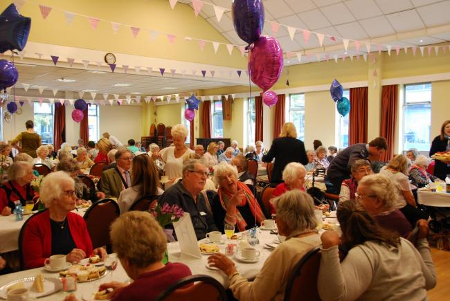 The annual over 90s party, organised by Ilkley and District Good Neighbours charity