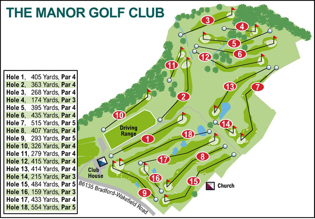 Ilkley Gazette: The Manor Golf Club