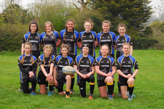 The West Park Leeds Girls Under-13s won the Yorkshire Cup for the second year in a row
