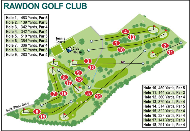 Ilkley Gazette: Rawdon Golf Club
