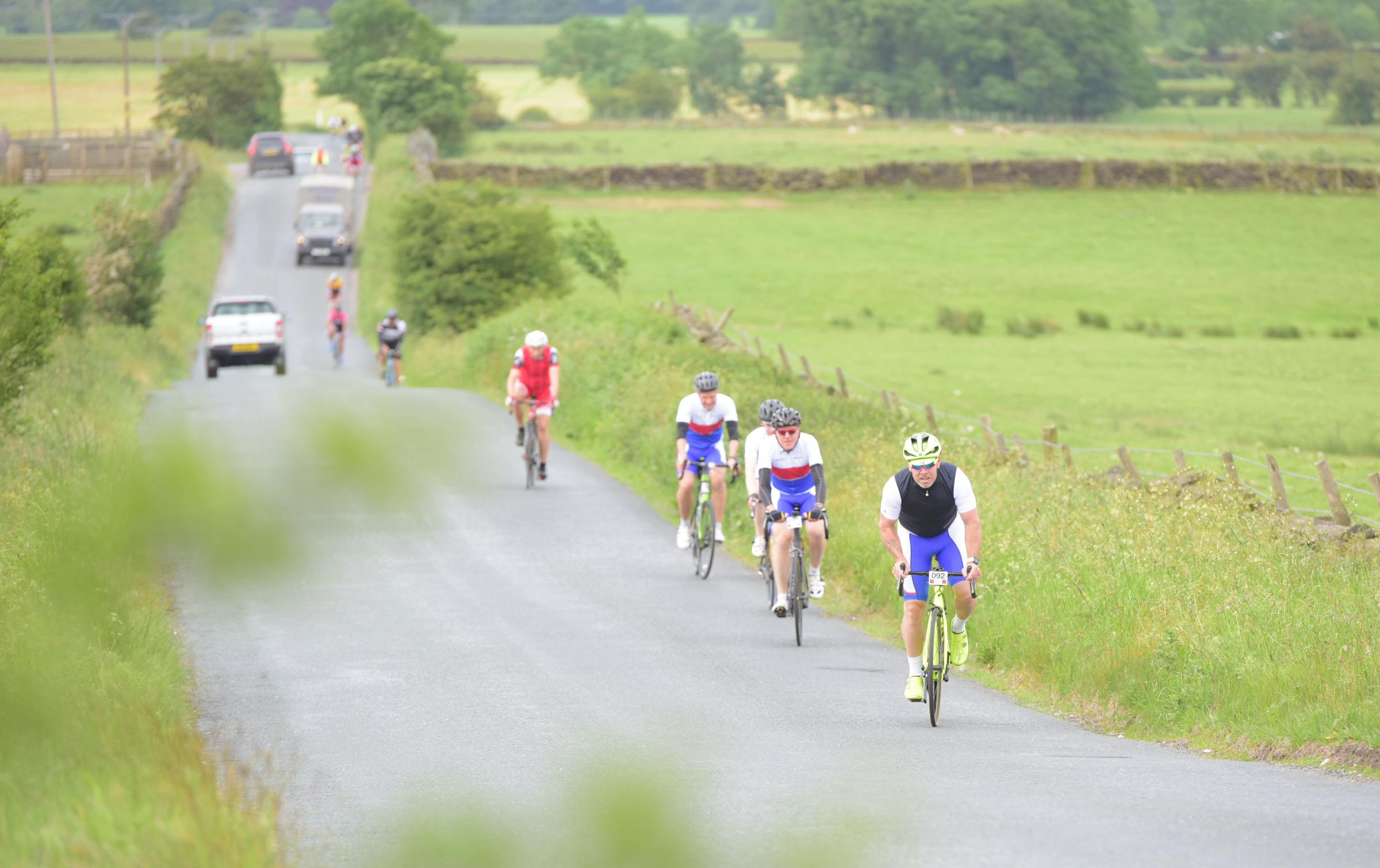 Pedal power: riders can still register for the Wharfedale Ton charity cycle on June 14. Photograph by Richard Walker/ www.imagenorth.net