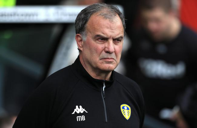 Leeds United manager Marcelo Bielsa will bring his squad to Guiseley for a pre-season friendly. Mike Egerton/PA Wire.