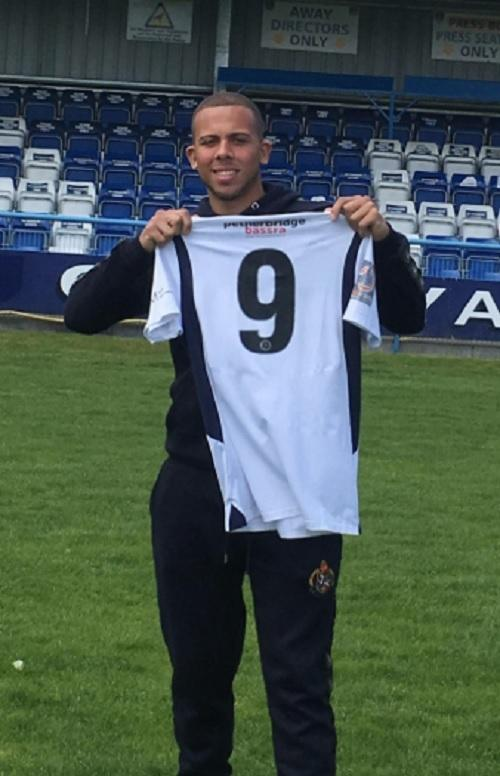 Aaron Martin has signed for Guiseley from Brighouse  Picture: Guiseley AFC