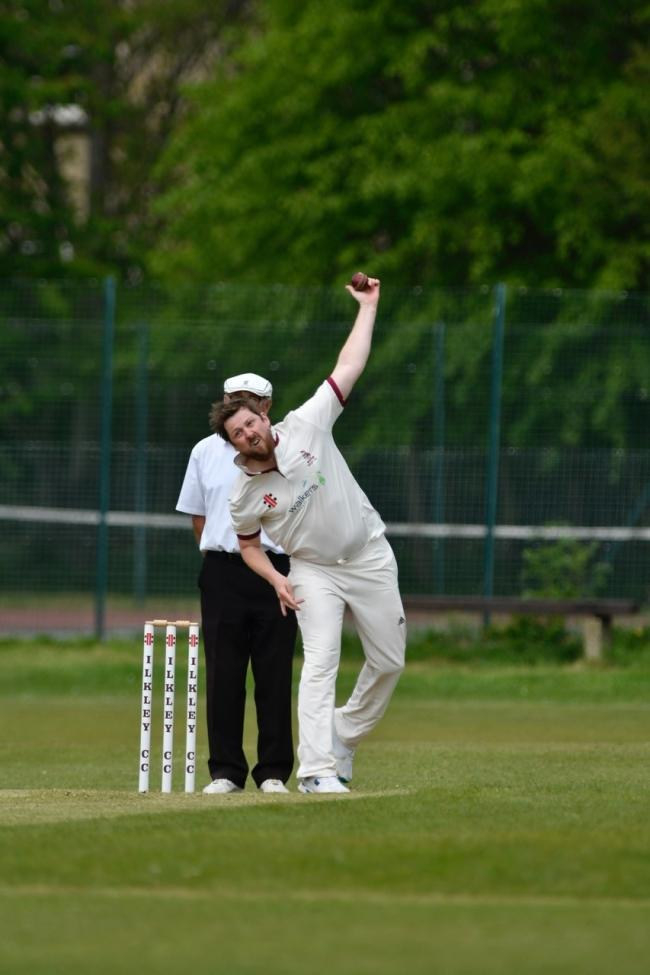 Nick Cockroft helped Ilkley beat Pool in the TB T20 Cup. Picture: Andy Garbutt
