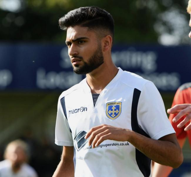 Hussain has made two substitute appearances for Guiseley.